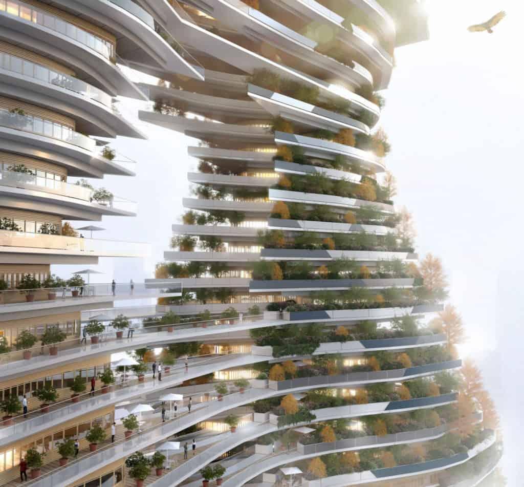 Nueva York: proponen construir un rascacielos que atrape las emisiones de carbono de la atmósfera