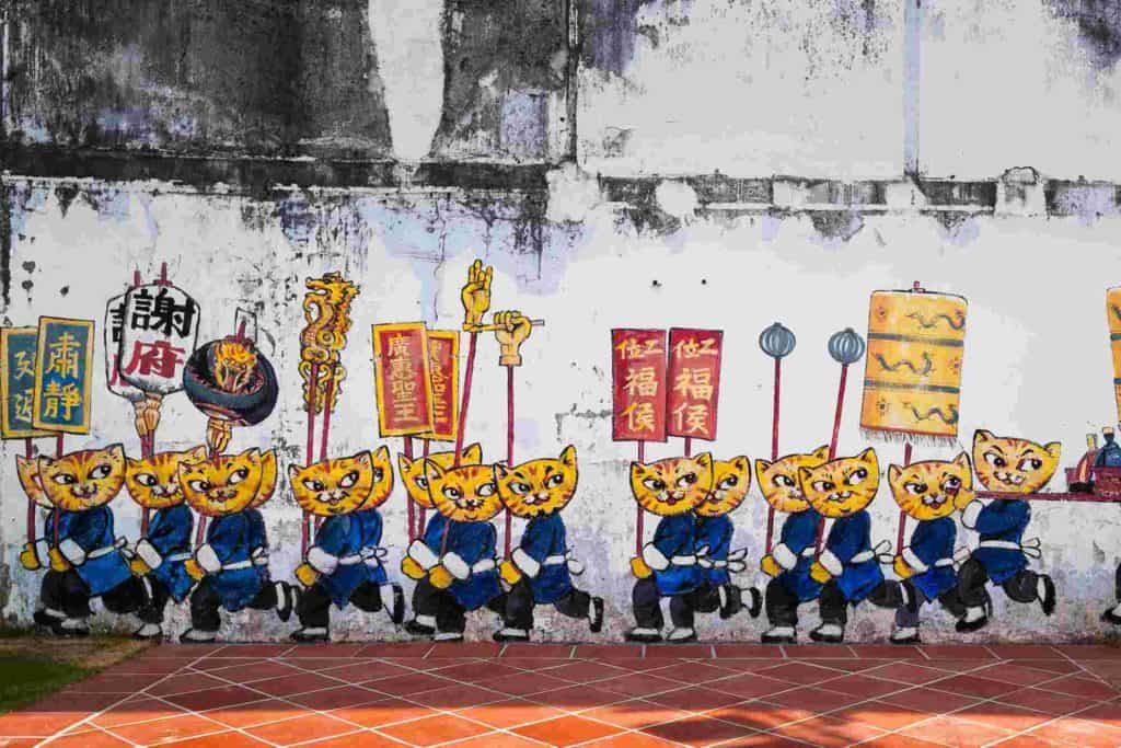 arte callejero de georgetown
