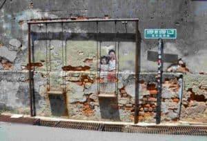 El arte callejero de Georgetown