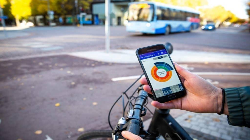 A través de CitiCAP, la ciudad de Lahti premia a los ciudadanos cuanto más hagan por reducir su huella de carbono en la zona