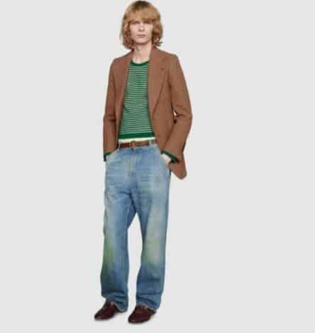 Gucci Esta Vendiendo Jeans Con Manchas De Pasto En Las Rodillas A 800 Dolares Intriper