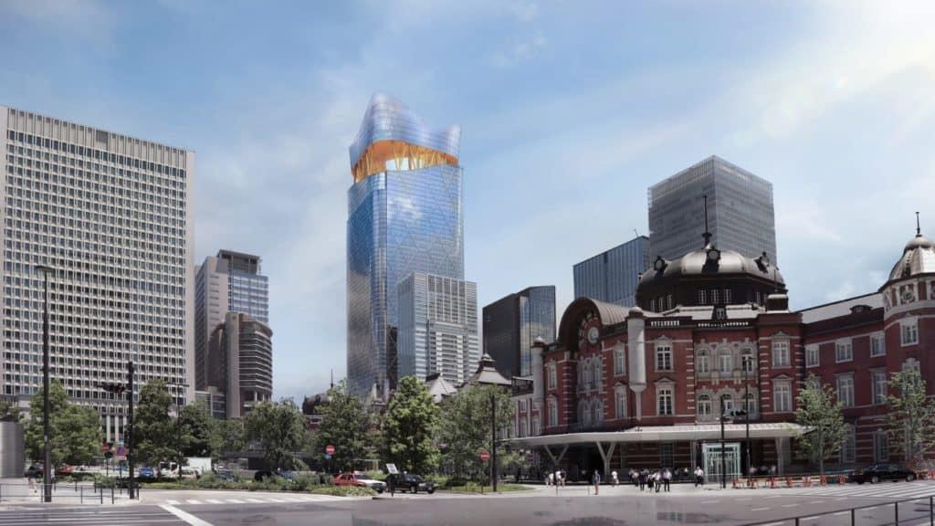"""Japón construirá su edificio más alto: """"Torch Tower"""" contará con una torre de observación para ver el Monte Fuji"""