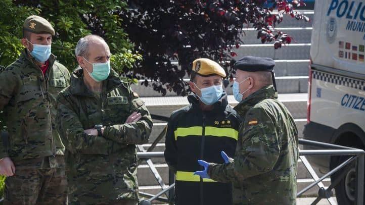 Madrid: Autorizan el despliegue del Ejército y la Policía para frenar el avance del COVID-19 en la ciudad