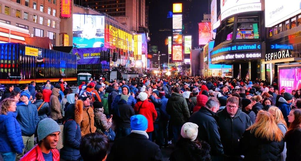 Histórico: No habrá fiesta de fin de año en Nueva York por primera vez en 114 años