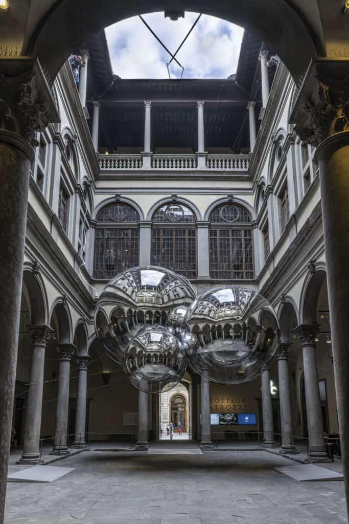 Imagen Palazzo Strozzi De Florencia Tomas Saraceno Palazzo Strozzi Ph Ela Bialkowska Okno Studio 1