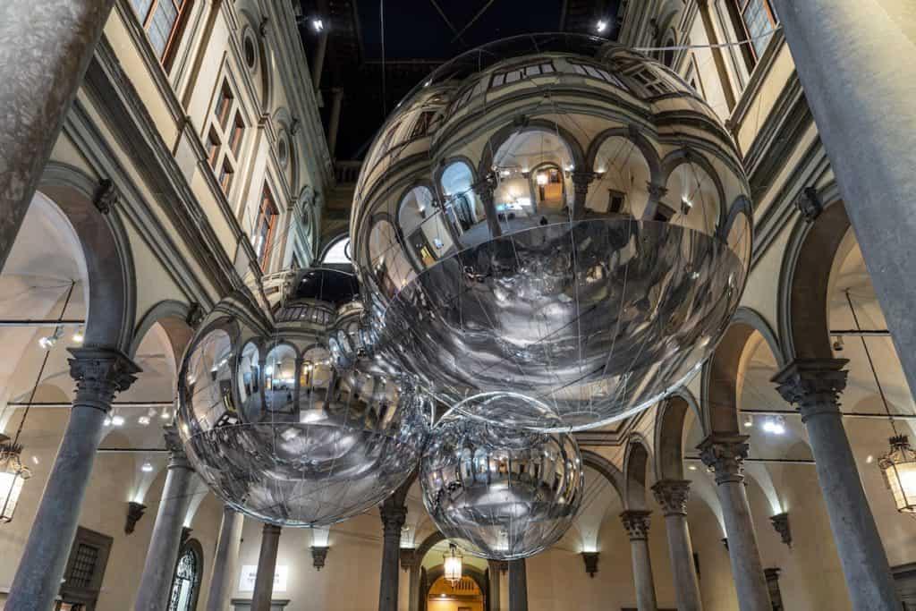 Imagen Palazzo Strozzi De Florencia Tomas Saraceno Palazzo Strozzi Ph Ela Bialkowska Okno Studio 4