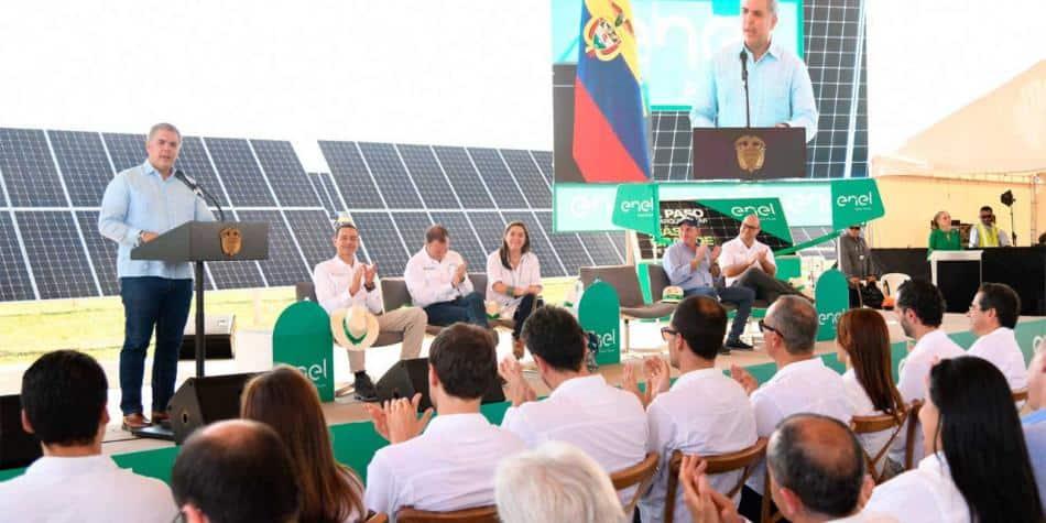 Colombia está tomando medidas para reducir sus emisiones de CO2 mediante la transición a energías renovables