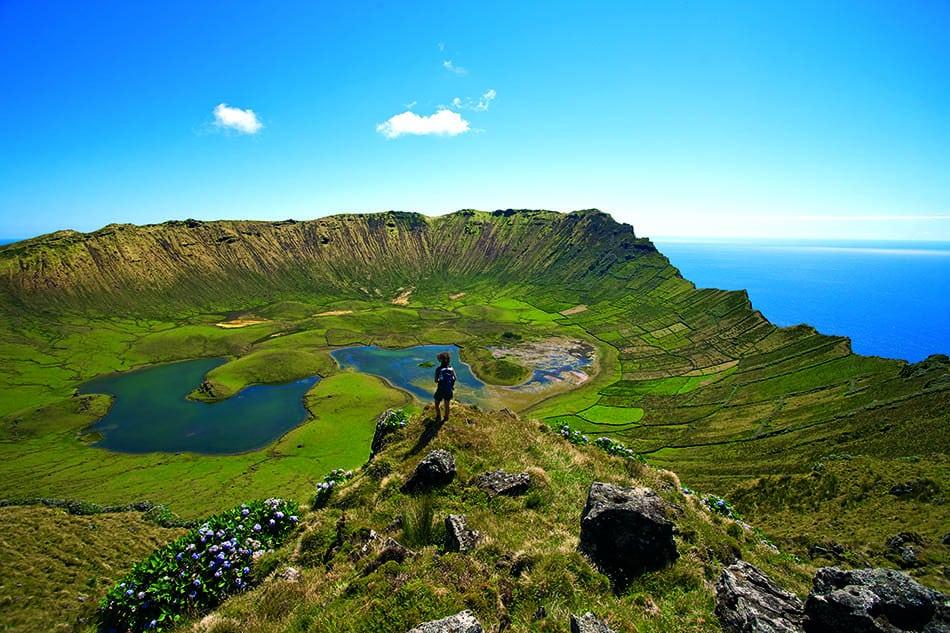 Qué ver en Islas Azores Isla de Corvo Azores