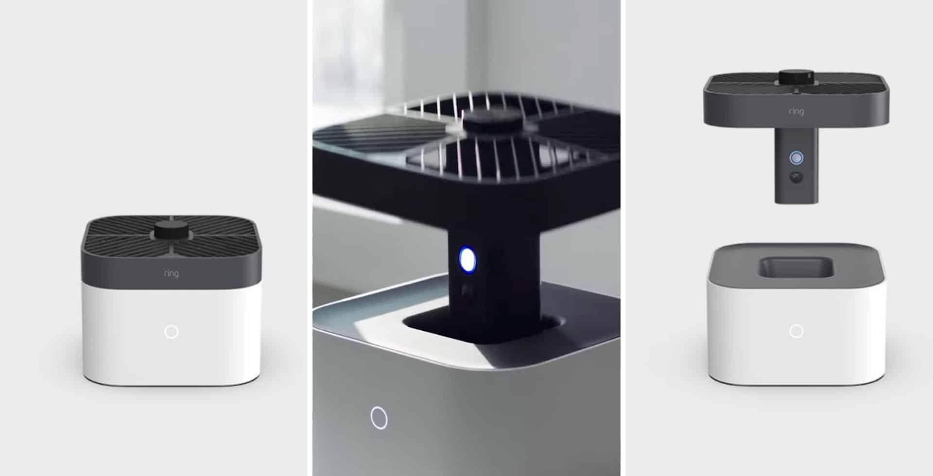 Amazon presentó su nueva cámara de seguridad y se convierte en un drone que recorre toda la casa