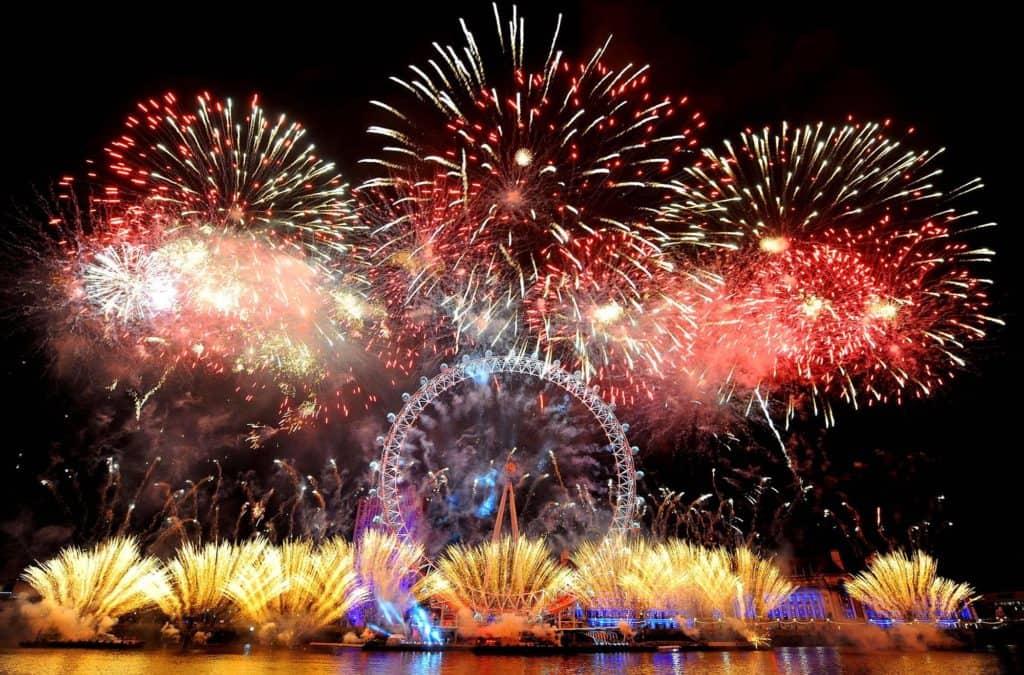 Londres: Suspenden los fuegos artificiales de Año Nuevo en el London Eye