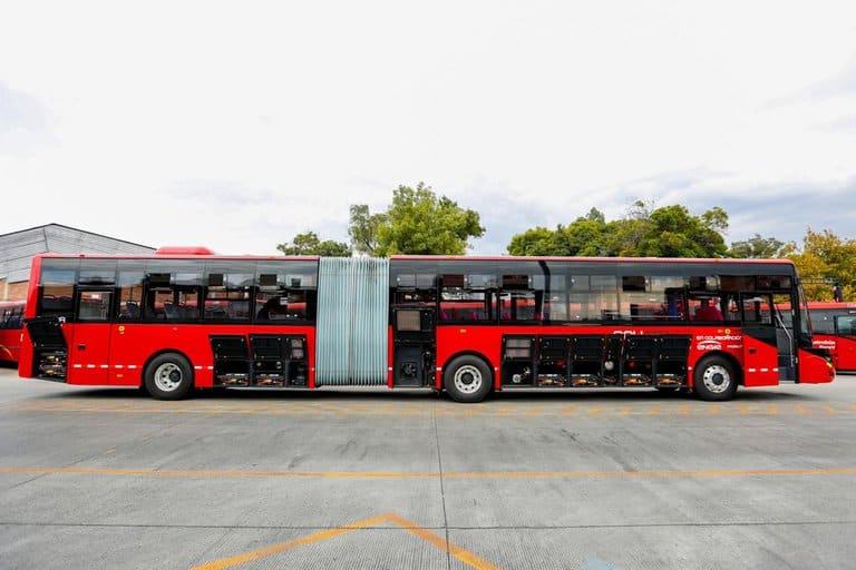 Ciudad de México tiene su primer autobús que es 100% eléctrico