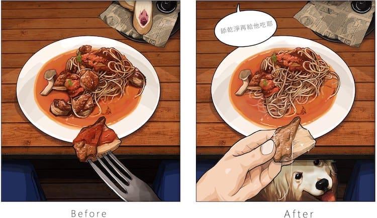 imagen tener una mascota Estas ilustraciones creadas por un artista taiwanes revelan como es la vida antes y despues de tener una mascota 6