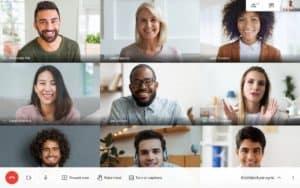 Google anunció que su plataforma Google Meet seguirá siendo gratuita y continuarán teniendo llamadas ilimitadas hasta 2021