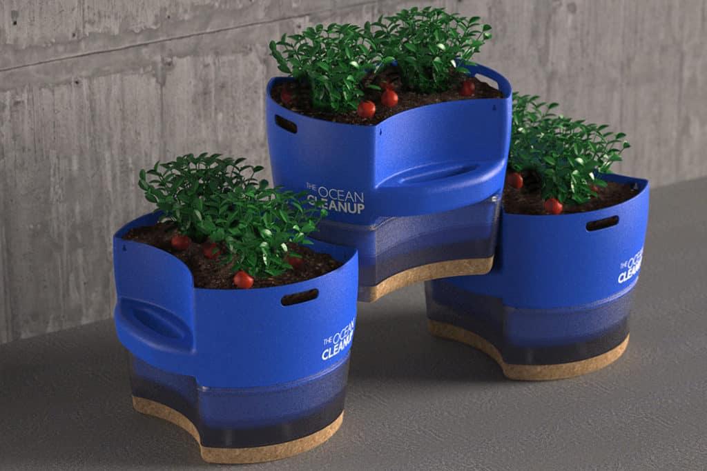 Diseñan Macetas Para Huertas Urbanas Que Son Producidas Con Plástico Reciclado Del Proyecto Ocean Cleanup