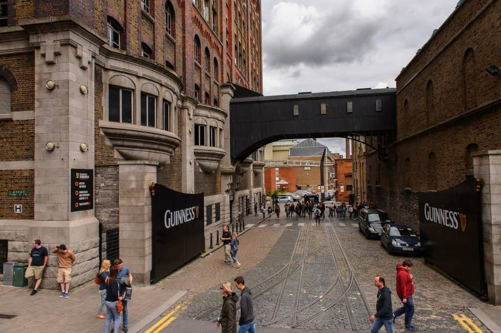 museo Guinness Storehouse