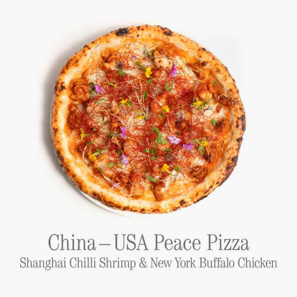 Imagen Restaurante Vietnamita Este Restaurante Vietnamita Creo Una Coleccion De Pizzas Que Combinan Los Ingredientes De Diferentes Paises En Conflicto 3
