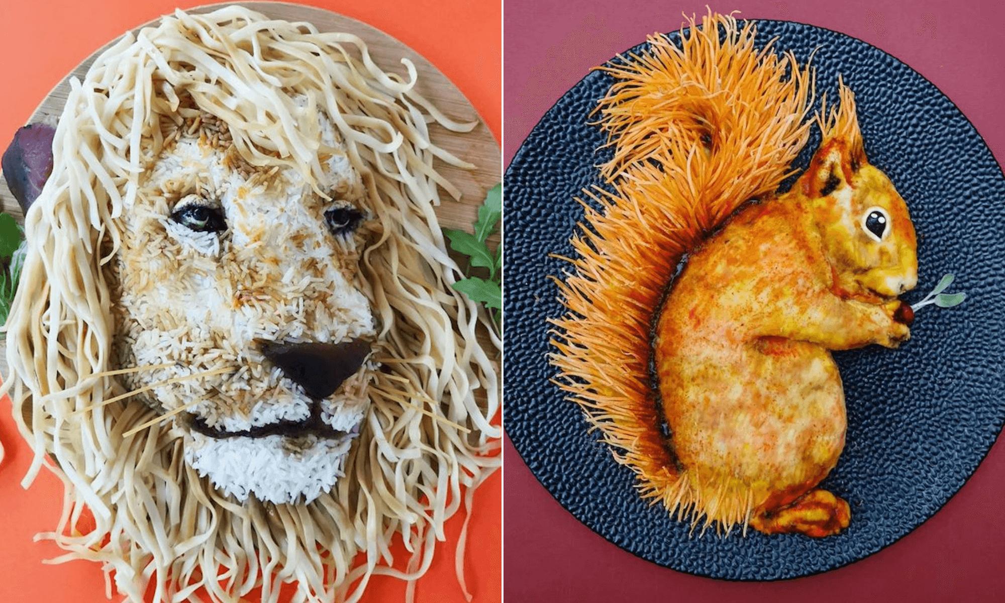 Esta creativa madre convierte las comidas diarias saludables en increíbles obras de arte 1