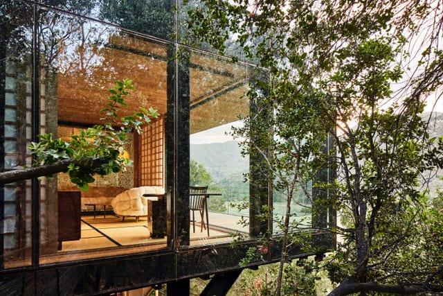 Villas de cristal: una particular propuesta de hospedaje en los acantilados del Valle de Millahue en Chile