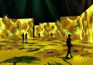 La muestra interactiva de Vincent Van Gogh llegará a Estados Unidos en 2021