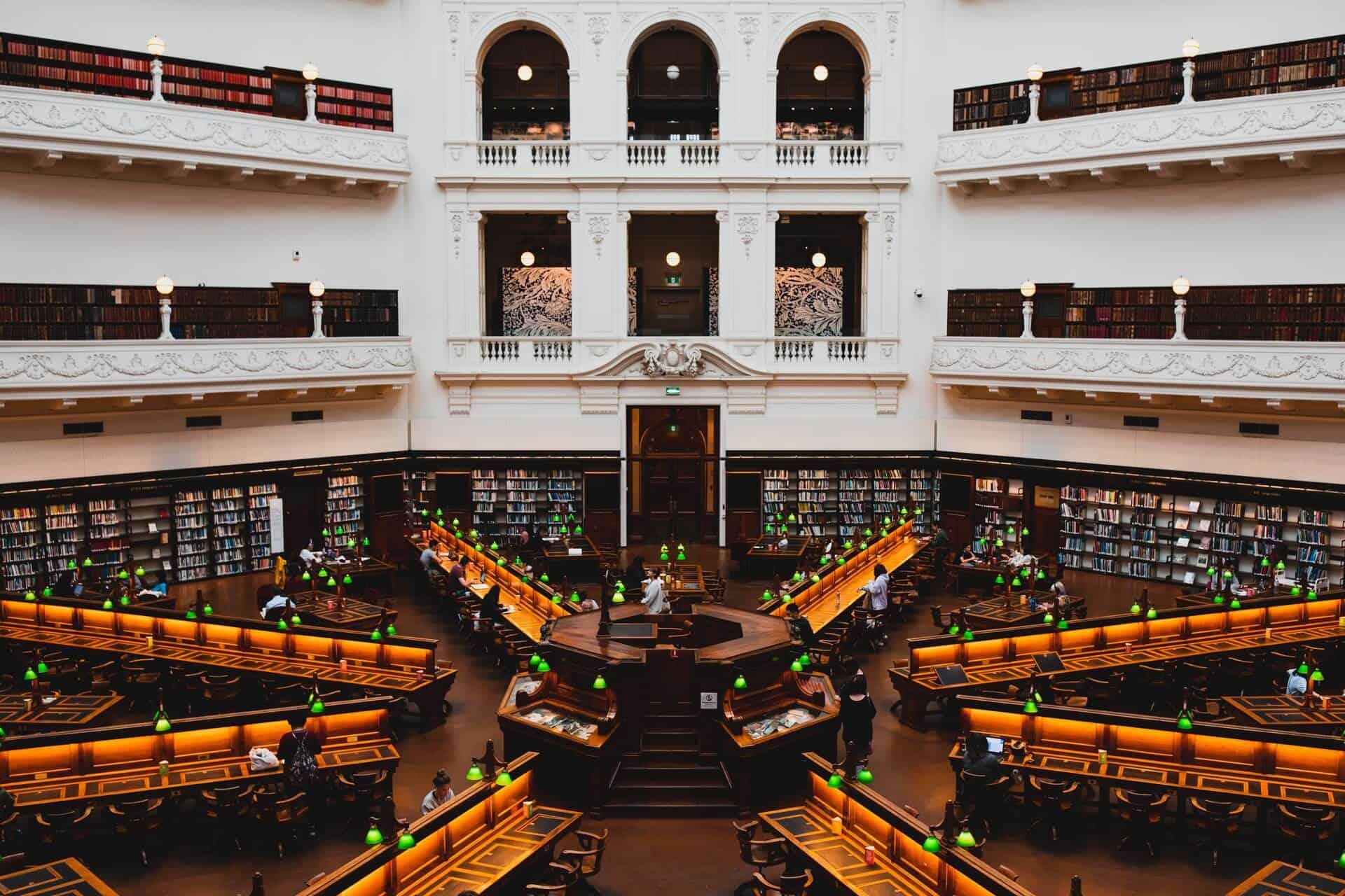 Biblioteca Estatal de Victoria, Melbourne