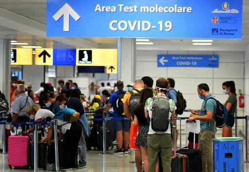 Italia: suma más países a la lista de aquellos cuyos viajeros deberán hacerse el test de COVID-19 antes de viajar