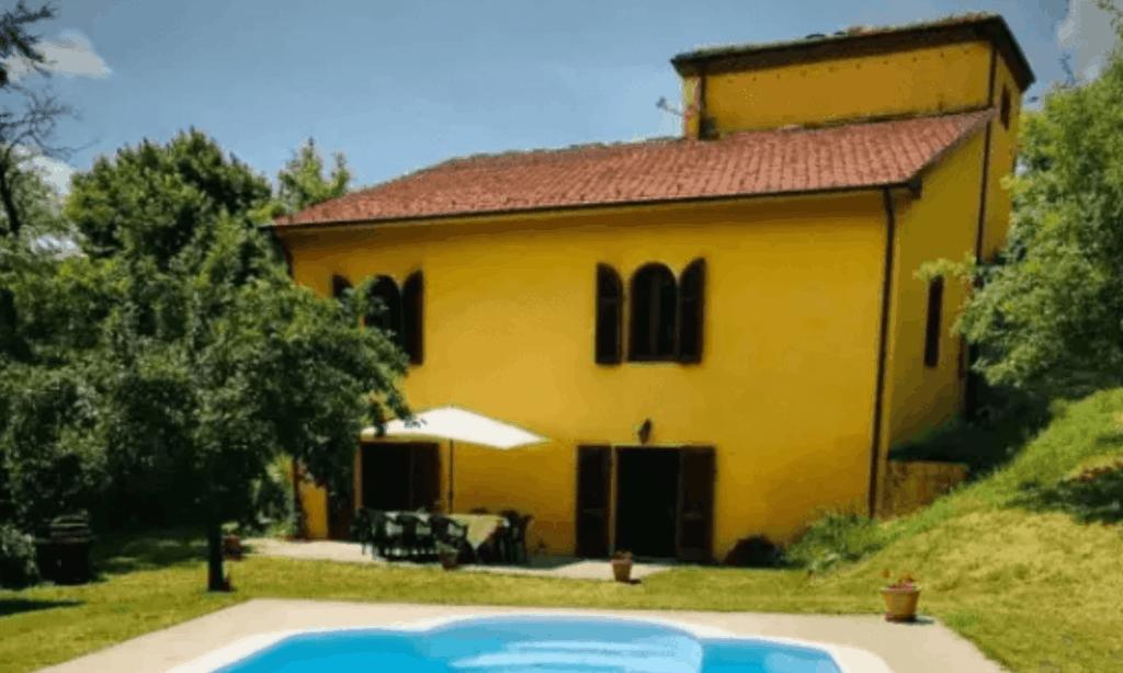 mansión de la Toscana