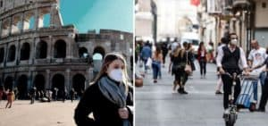 Italia: toman nuevas medidas en relación a las restricciones para intentar frenar el avance de COVID-19