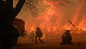Argentina: llovió en la provincia de Córdoba luego de 5 meses de sequía y ayudó a extinguir los incendios por unas horas