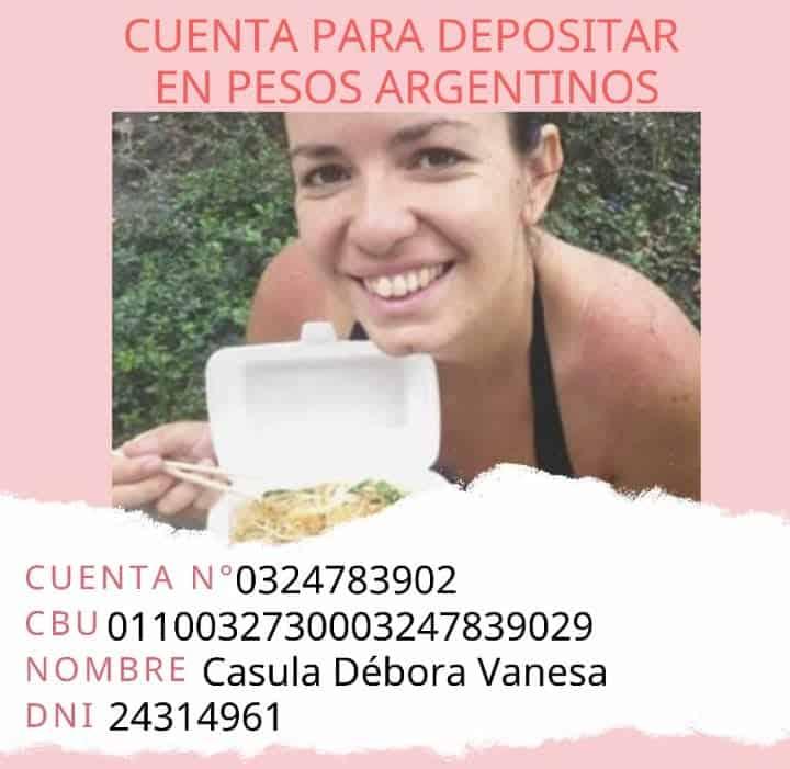 Eliana Barrionuevo falleció en un accidente en Georgia y su familia pide ayuda para repatriar sus restos a Argentina