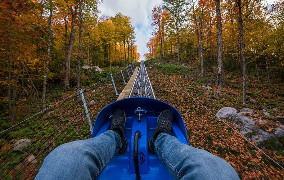 Estados Unidos: abrió el recorrido de montaña rusa más largo del país en Nueva York