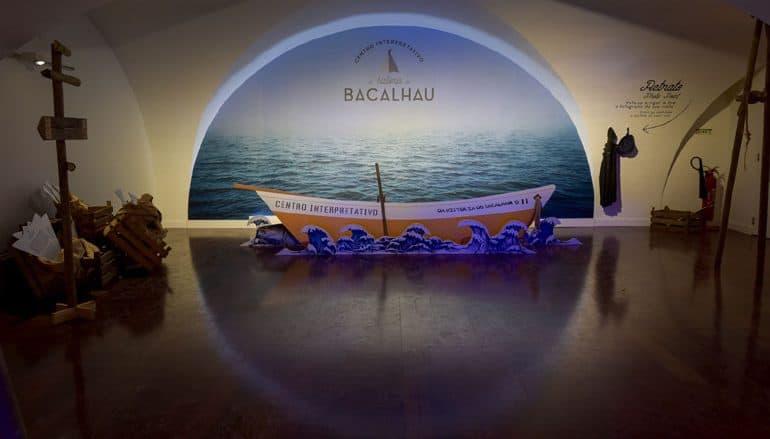 imagen centro interpretativo del bacalao Historia do Bacalhau Terrei