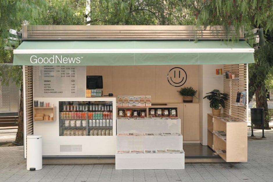 Barcelona Reinventa Los Clásicos Quiscos De Prensa Con Goodnews