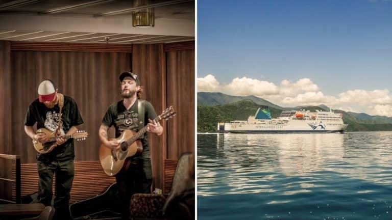 Nueva Zelanda: una empresa de catamaranes ofrece pasajes gratis para artistas a cambio de su música en vivo
