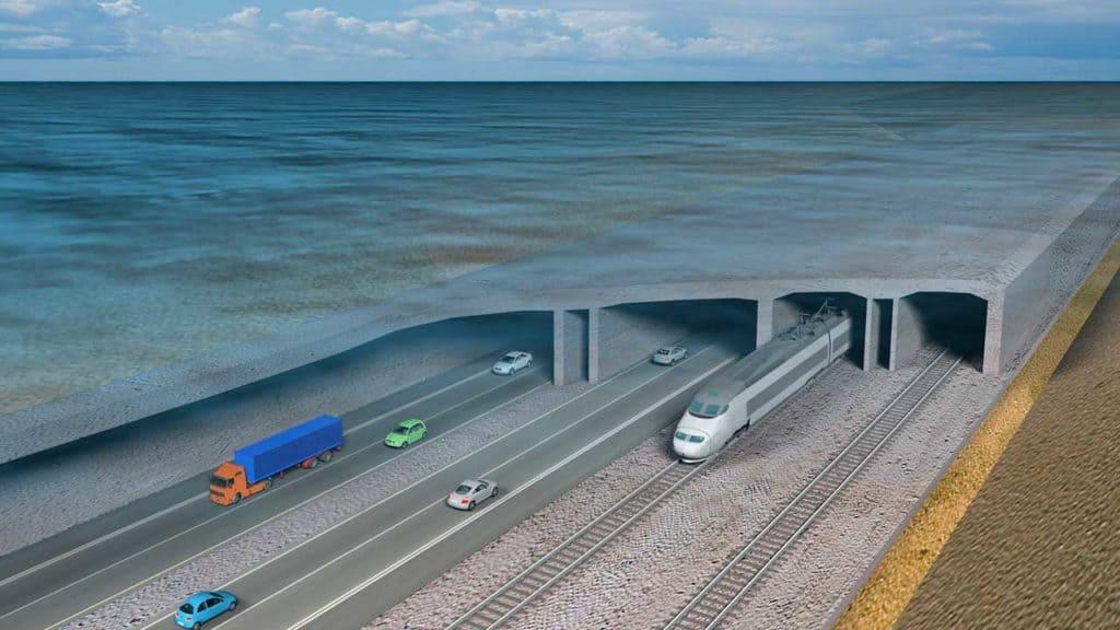 Nuevo Túnel Bajo El Mar Báltico
