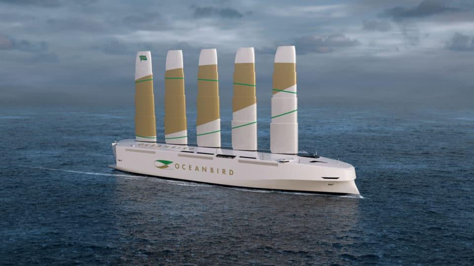 Así será Oceanbird, el buque eólico más grande del mundo que zarpará en 2024