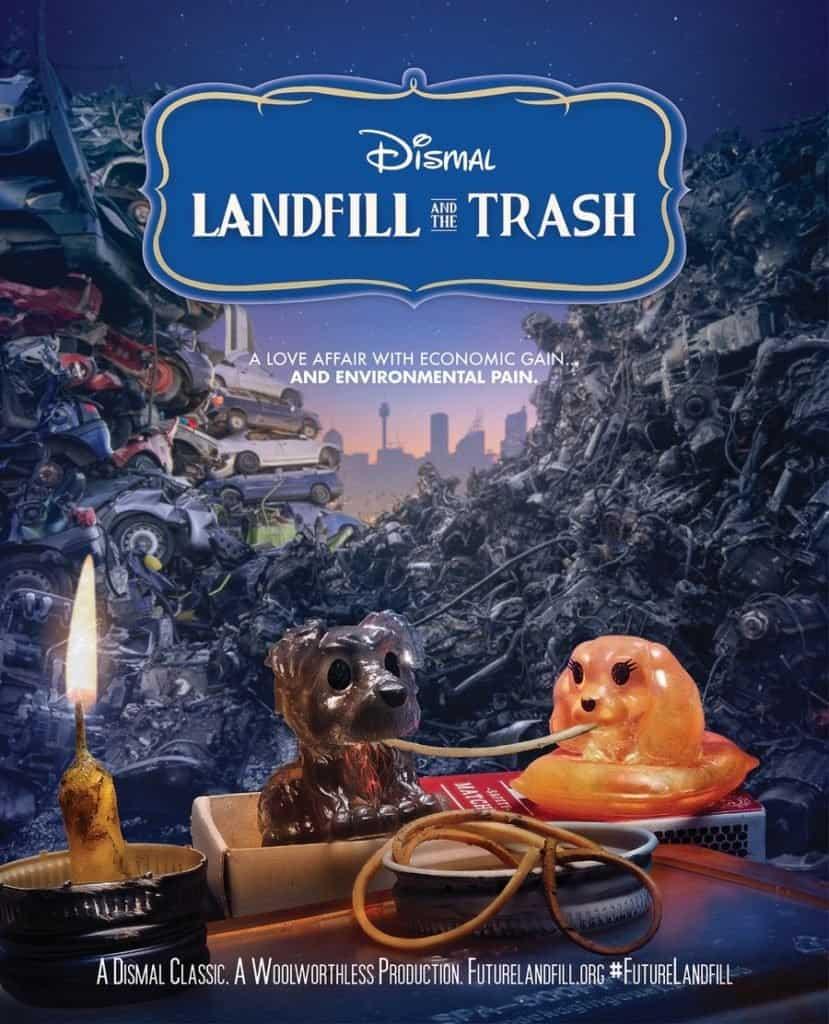 Esta campaña crea parodias de posters de películas de Disney para denunciar sobre la contaminación de los juguetes plásticos