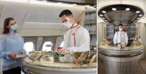 La aerolínea Emirates abrirá nuevamente los bares en sus vuelos