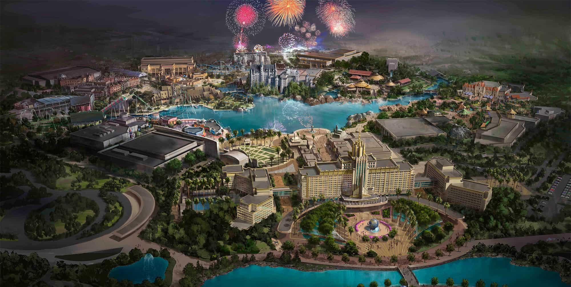 Universal Beijing Resort reveló más detalles del parque temático que abrirá en 2021