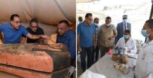 Hallaron alrededor de 80 nuevos sarcófagos en Saqqara, Egipto