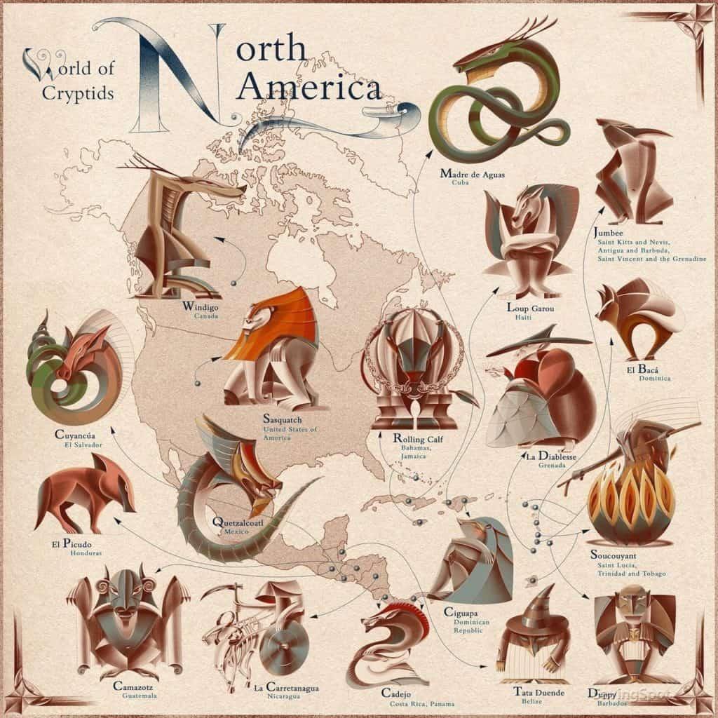 criaturas míticas más famosas