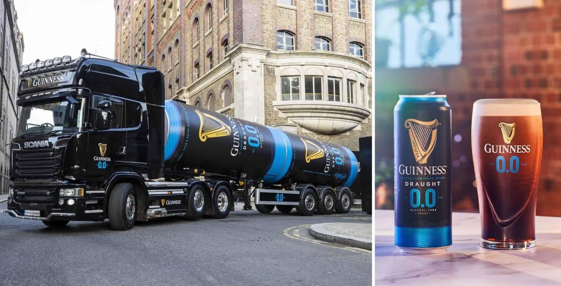 """Guinness presentó 'Guinness 0.0', una cerveza que """"tiene todo menos alcohol"""""""