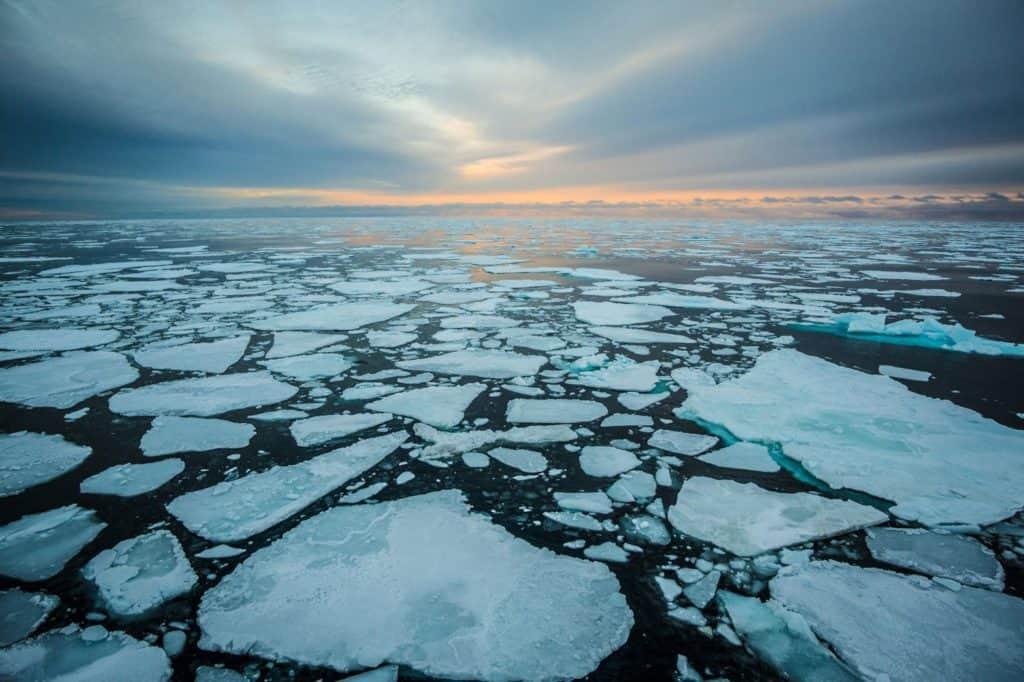 El hielo del Ártico todavía no se congeló y es la primera vez que sucede desde que hay registros