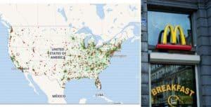 Estados Unidos: desarrollaron una página que muestra en qué McDonald's funciona la máquina de helados