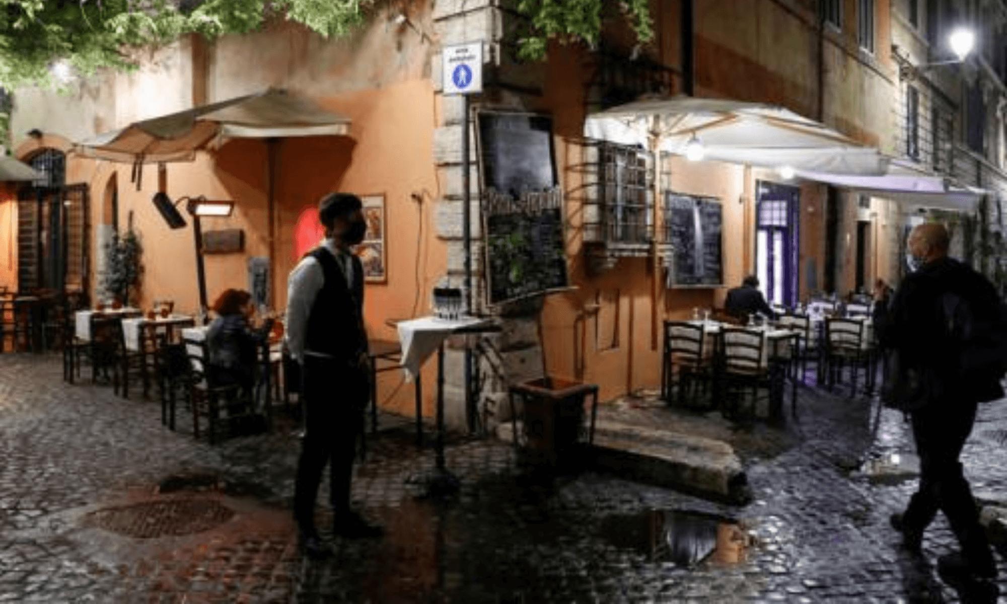 Cierre de cines, gimnasios y restaurantes abiertos solo hasta las 18 las nuevas restricciones en Italia por COVID-19 2