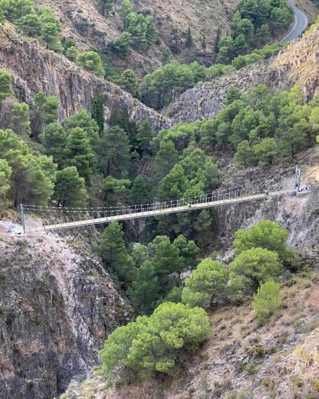 puentes colgantes más grandes de España