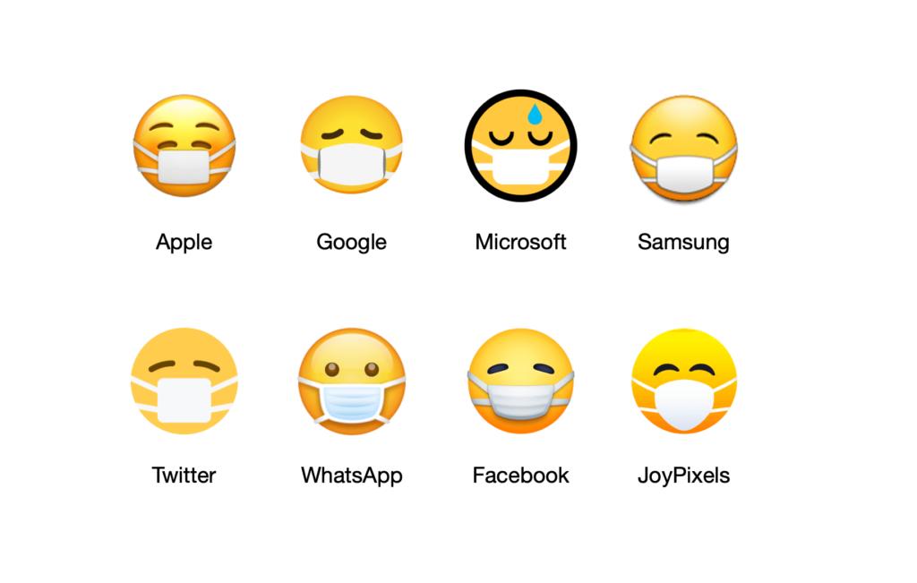 emoji de la máscara