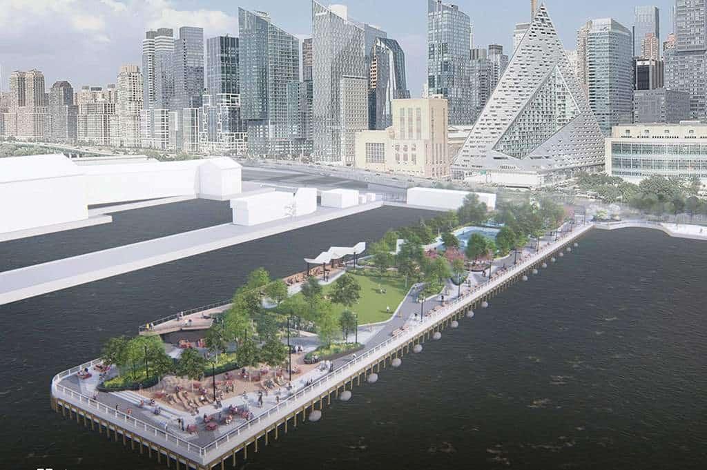 Nueva York transformará muelles abandonados en islas repletas de vegetación
