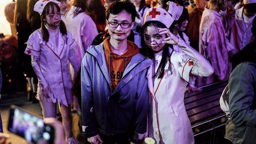 Halloween wuhan