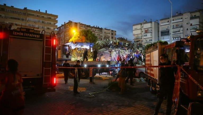 Terremoto en Grecia y Turquía: la cantidad de víctimas fatales asciende a 41