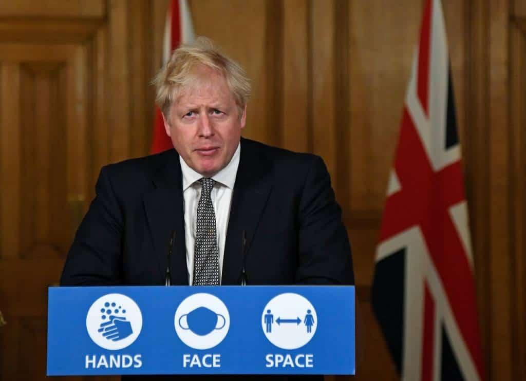 Inglaterra: el primer ministro anunció un nuevo confinamiento hasta Diciembre